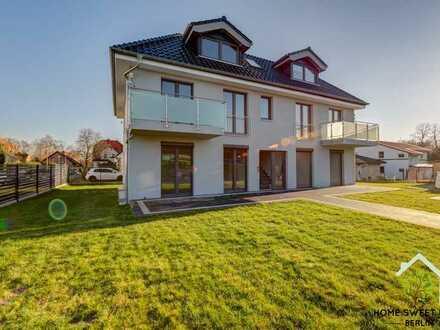 ✓ Erstbezug ✓ Fußbodenheizung ✓ Einbauküche ✓ Terrasse ✓ Garten