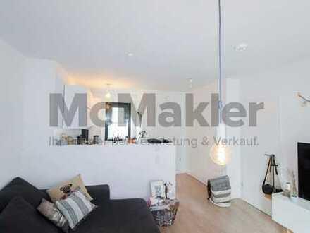 Stilvoll wohnen in Hamburg: 2-Zi.-Maisonette-Whg. in zentraler urbaner Lage - Haus in Haus