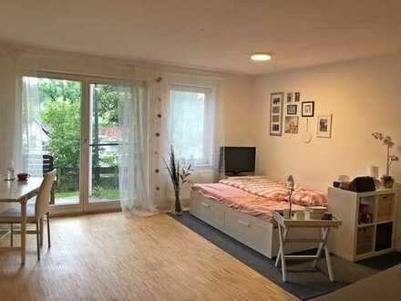 Teilmöblierte 1 Zimmer-Wohnung in ruhiger Lage von Tübingen!