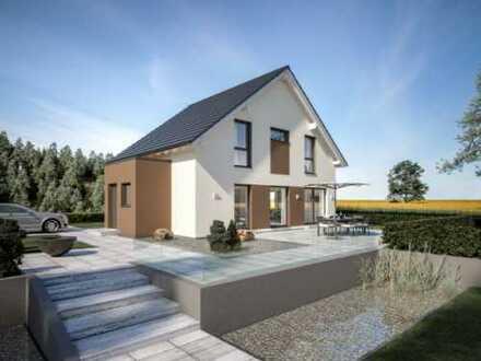 projektiertes Einfamilienhaus