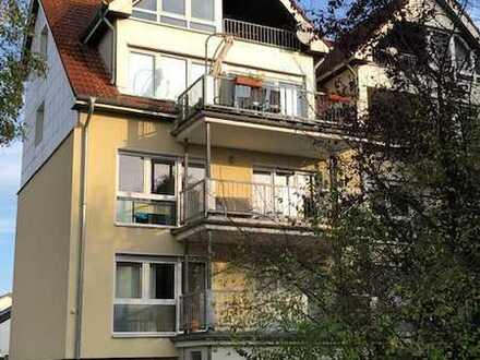 2 Zi. DG-Wg./ Büro. m. Balkon + Stp. f. Kapitalanleger oder Eigennutzer
