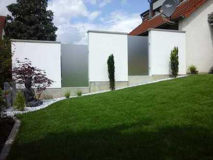 Gemütliches Reihenendhaus mit zauberhaftem Gärtchen, Herxheim bei Landau/Pfalz