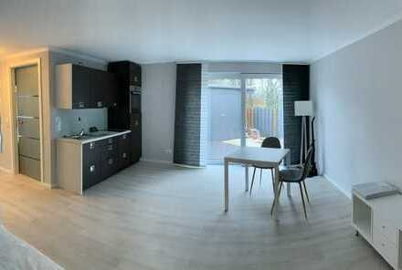 Erstbezug mit Einbauküche - exklusive 1 -Zimmer-Apartment Wohnung möbliert in Oldenburg