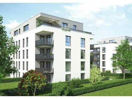 Kompakte, moderne 2-Zimmer-Wohnung mit Balkon und Tageslichtbad