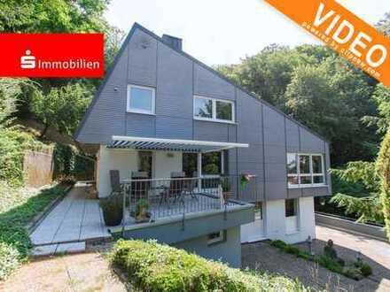Exklusives Einfamilienhaus in schöner Hanglage von Zwingenberg