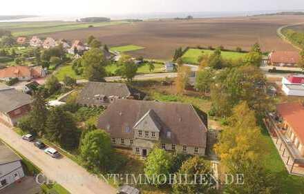 '' Nutzen Sie die Herausforderung '' ehemaliges Gutshaus ca. 1.000 Meter bis zum Saaler Bodden