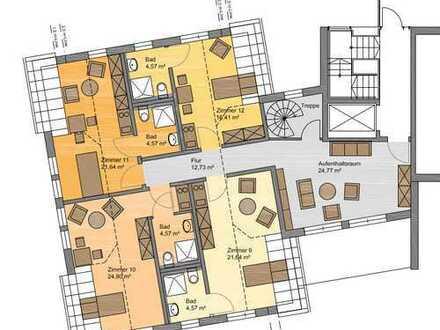 *Haus für Wohngemeinschaft*: Boardinghouse oder Wohngemeinschaft für Pflegebedürftige oder ...