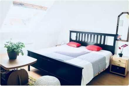 Schöne Einzimmerwohnung möbliert