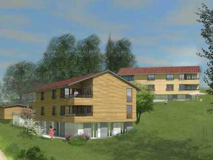 Erstbezug; hochwertige 2-Zimmer-Dachgeschosswohnung mit Bergblick in Sonthofen