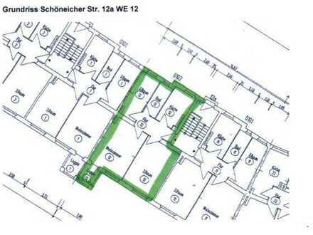 Gepflegte 3-Zimmer-Wohnung mit Loggia in Hohenschönhausen, Berlin