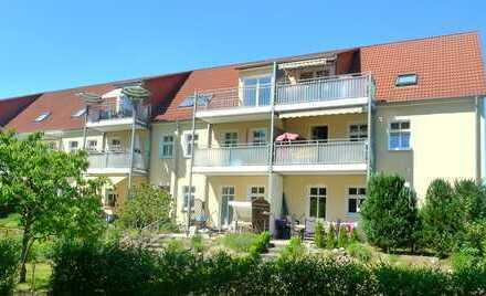 Schöne 2-Zimmer-Dachgeschosswohnung mit Balkon in Alt Ruppin