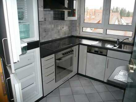 Hochwertige 2 Zimmer Wohnung mit Balkon und TG in Hechingen - Stockoch zu vermieten
