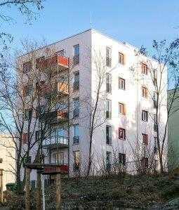 Neubau an der Dresdner Heide.