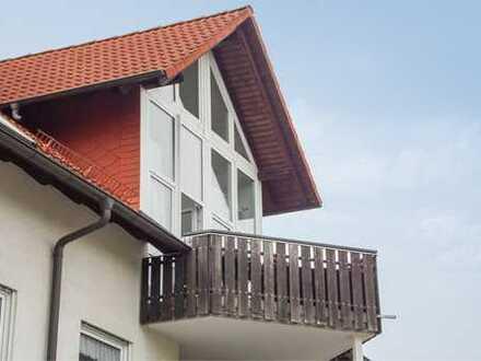 **Dachgeschoss-/Maisonettewohnung in ruhiger Lage** 2-Zimmer-Wohnung in Dresden-Weißig