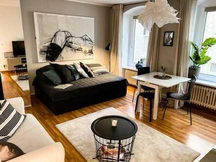 Vollmöbliert - Tolle 1-Zimmer Wohnung mit 30 m² im Greafekiez in Kreuzberg