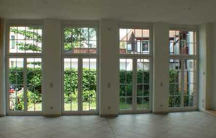 Nähe GoetheGal, Atelierwhg mit Kamin und Garten, 3 Zim.