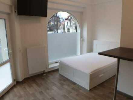 möbeliertes Apartement - Erstbezug nach Sanierung mit EBK: stilvolles 1-Zimmer-Apartement Uni - Nähe