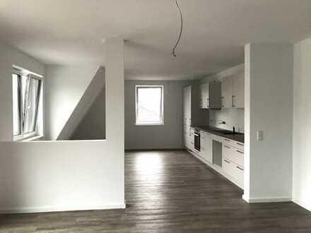 Erstbezug mit EBK und Balkon: ansprechende 4-Zimmer-Dachgeschosswohnung in Tostedt