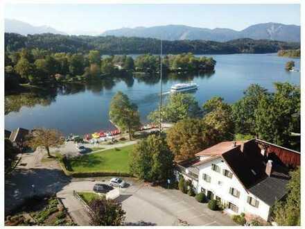 Baugrundstück für ein Gastronomieprojekt, an einem der schönsten Plätze von Oberbayern, direkt am St