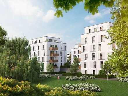 PANDION VILLE - Großzügige 2-Zimmer-Wohnung für Singles oder Paare mit schönem Balkon