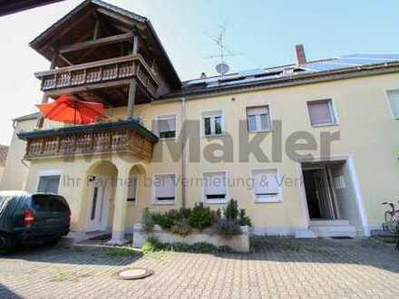 Gehobenes Wohnen nahe dem Allgäu: 5-Zi.-Maisonette mit Balkon und Terrasse in zentraler Lage
