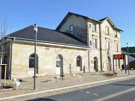 Gewerbefläche im historischen Bahnhof von Bürstadt