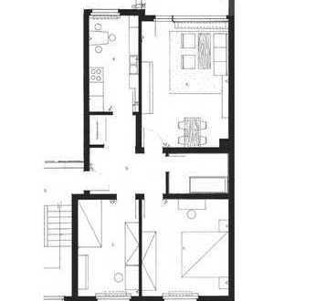 3 Zimmer, separate Küche, Balkon, 2011 saniert (neues Bad/Böden etc). Ab 16.12.19