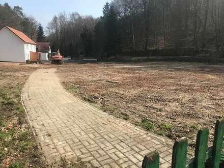 Baugrundstück mit Seeblick in Bad Helmstedt im schönen Brunnental