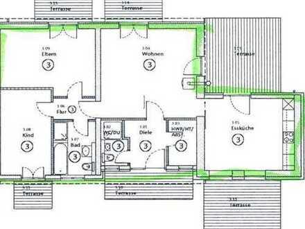 Frisch Sanierte 3-Zimmer Wohnung im Grünen