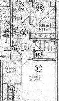 3 Zimmer Wohnung in gefragter Lage / Kaarst Zentrum