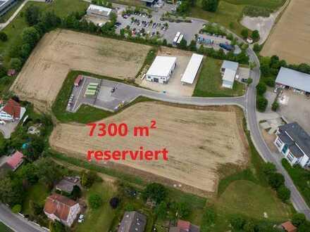 Reserviert, 7300 m² Gewerbegrund in Langenneufnach