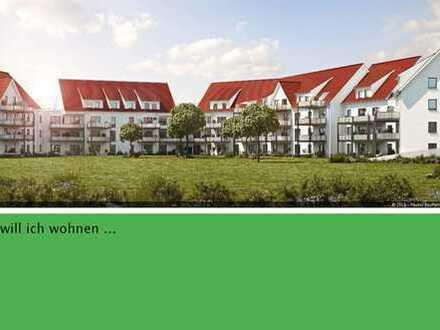 Schöne, sonnige 3 Zimmer Neubauwohnung mit Gartenanteil