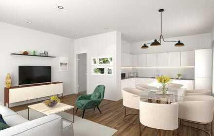 Moderne 3ZKB OG-Wohnung mit Balkon zum Erstbezug sowie Prov.frei!