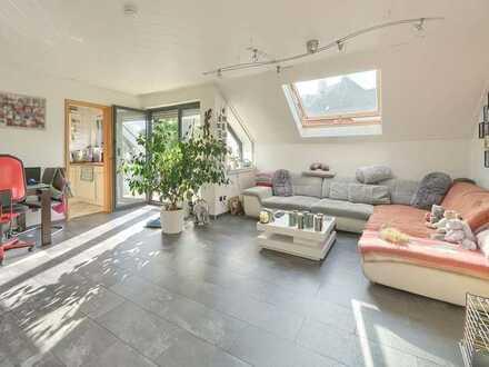 Moderne, vermietete DG-Wohnung in guter Lage