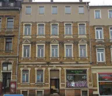 05/17 - unsaniertes Wohn- und Geschäftshaus mit 5 WE und 1 GE in Plauen (Haselbrunn)