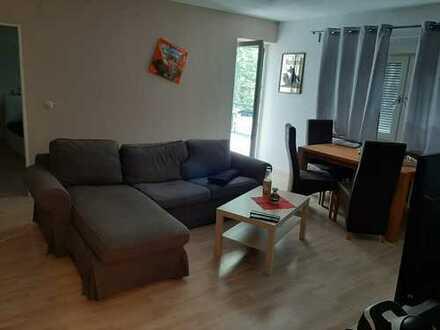 modern möblierte 2-Zimmer-Wohnung mit Balkon und Einbauküche in Bad Wimpfen