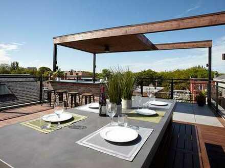 Vielseitig nutzbare Gewerbefläche mit großer Dachterrasse als Developoment-Projekt!