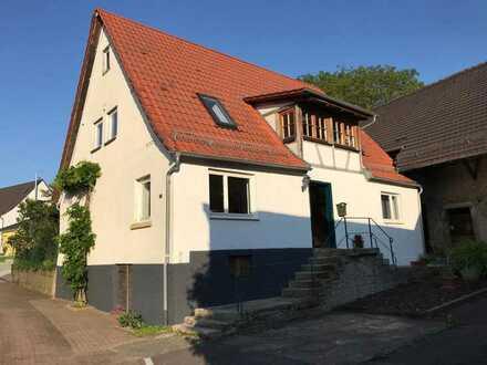 Fachwerkhaus mit Scheune und großem Grundstück in Sinsheim Ortsteil