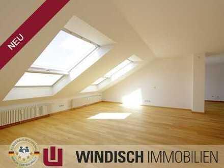 WINDISCH Immobilien - Sonnige Dreizimmer-Dachgeschosswohnung in Ortsrandlage von Germering