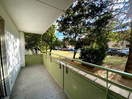 Ruhig gelegen - Schicke 3-Zimmer-Wohnung mit Balkon und Aussicht ins Grüne in Ludwigshafen