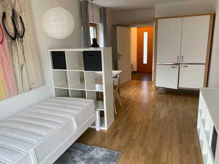 1-Zimmer Appartement, voll möbliert, München-Obermenzing