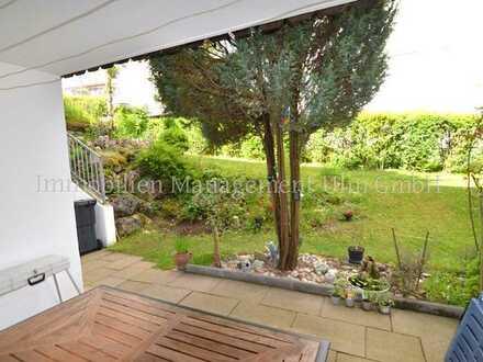 2-Zimmer-Wohnung mit offenem Grundriss und schönem kleinen Garten in Blaustein- Arnegg