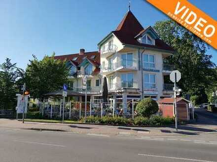 strandnahe 2-Raum-Wohnung mit Südbalkon im Seebad Zempin