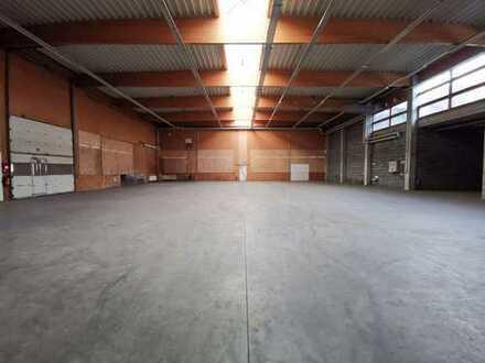 900 qm Lagerhalle + Büros & Sozialräumen