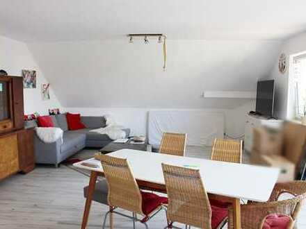 Minderslachen: 2 ZKB DG Wohnung mit Stellplatz und Gartenanteil
