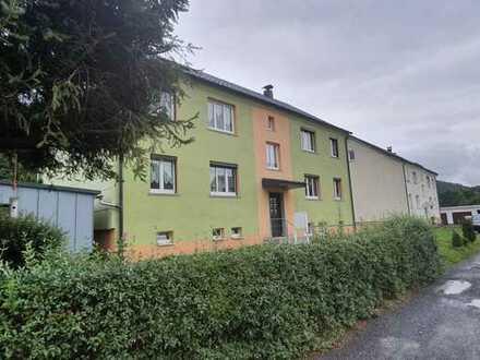 Die Alternative zum Einfamilienhaus! 3-ZI.-Whg. in Steinach, 59 m² mit Carport und Garten.