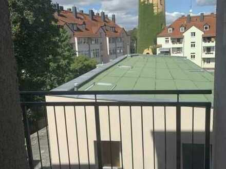 Erstbezug* Böhlitz-Ehrenberg* 2 Zimmer-Whg. mi Balkon* Parkett* Tageslichtbad* 2.OG