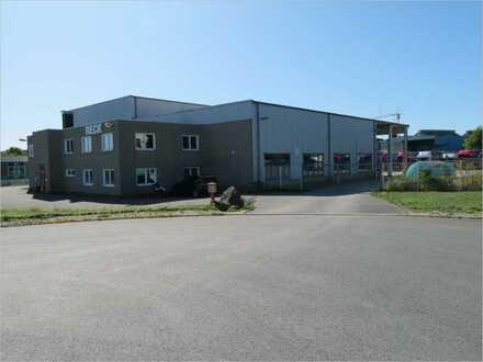 NEUER PREIS! Vielseitig nutzbares Betriebsgebäude im Gewerbegebiet von IS-Kalthof!!!