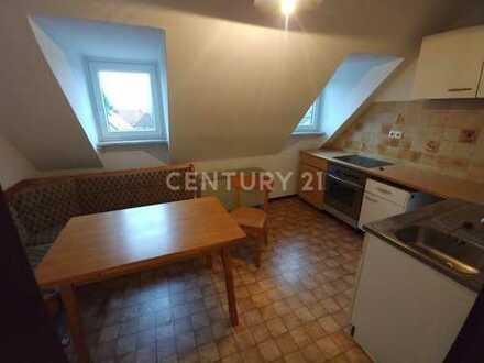 2 Zimmer- Dachgeschosswohnung in Mahlerten