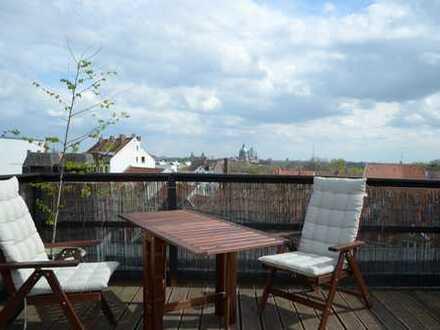 Wunderschöne Altbauwohnung mit Dachterasse in Linden